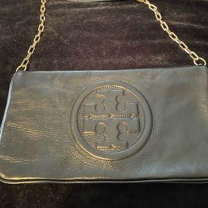 Tory Burch clutch/crossbody leather